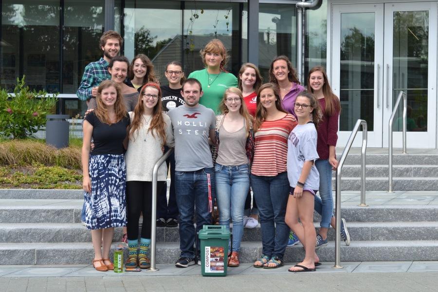 Dickinson- Fall 2015 res hall Eco Rep team